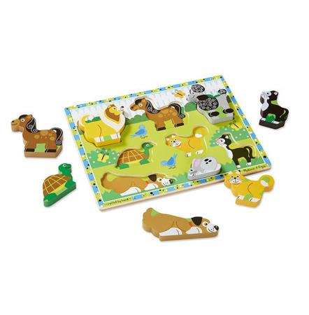 Grube Puzzle Jumbo Zwierzęta Melissa and Doug 13724