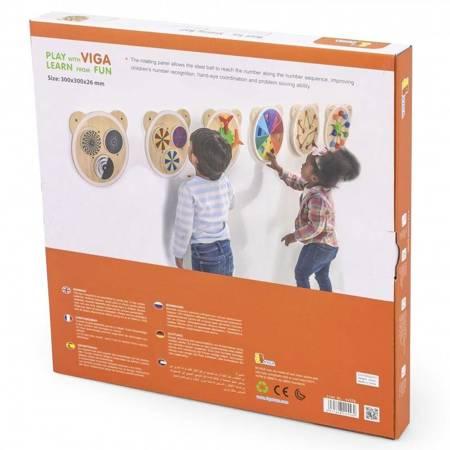 Drewniana Tablica Edukacyjna Labirynt Viga Toys