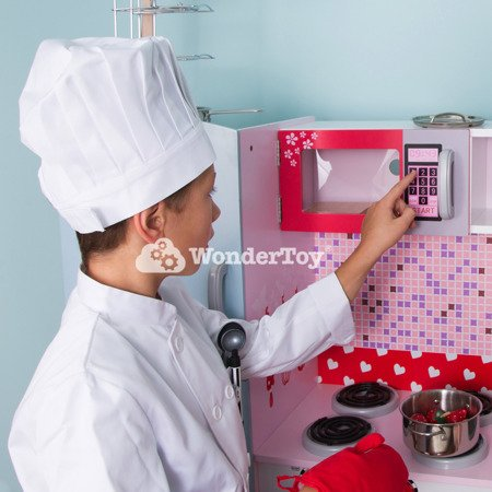 Wielka Drewniana Nowoczesna Kuchnia Dla Dzieci Sweet Cherry