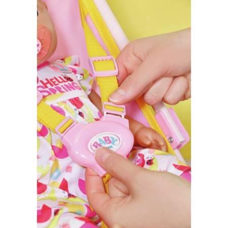 Baby Born Różowy Wózek dla Lalki z Torbą Na Akcesoria
