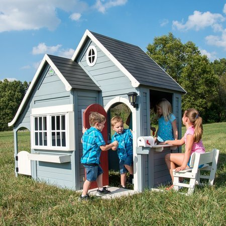 Cedrowy Domek Ogrodowy Ultimate Premium Spring Cottage Backyard Discovery 1902312