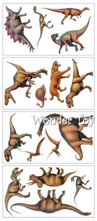 Dekoracje ścienne samoprzylepne Dinozaury Naklejki RoomMates RMK1614SCS