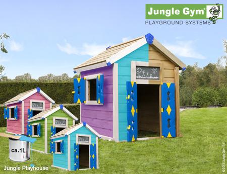 Domek  Jungle Playhouse Jungle Gym
