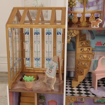 Domek dla lalek KidKraft Bajkowy Pałac i Oranżeria Światło i Dźwięk 10153