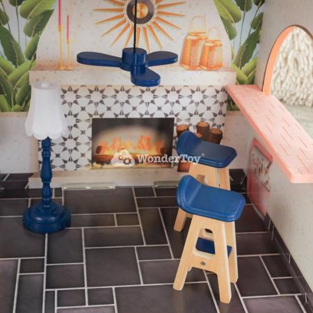 Domek dla lalek KidKraft Camila Miami Celebrity 65986 - Światło i Dźwięk