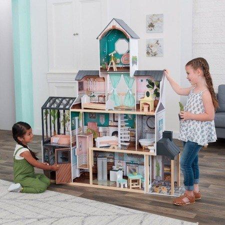 Domek dla lalek KidKraft Celeste Mansion 659579- Światło i Dźwięk