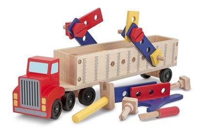 Drewniana Ciężarówka Zrób to Sam  Melissa and Doug 12758