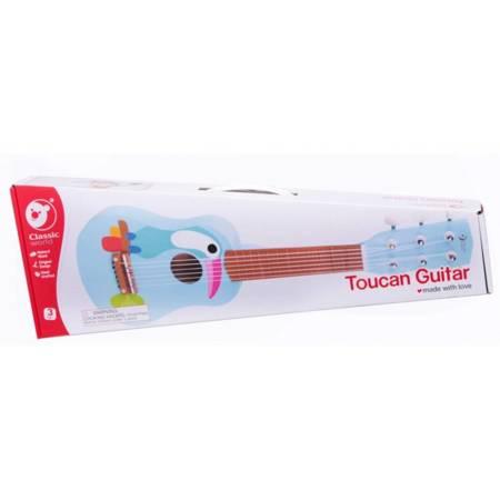 Drewniana Gitara Dla Dzieci Toucan Classic World