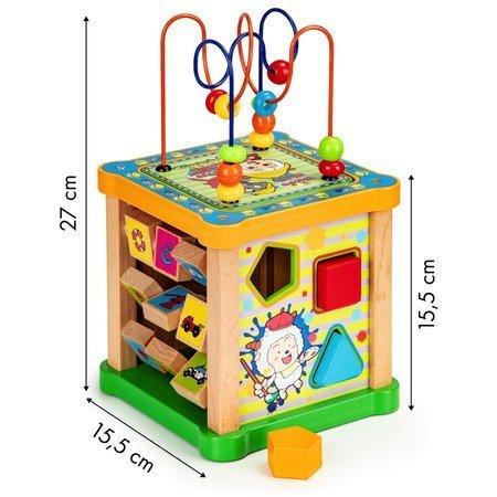 Drewniana Kostka Edukacyjna Art Box