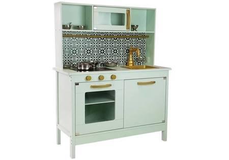 Drewniana Kuchnia Marokańska Mozaika  Akcesoria