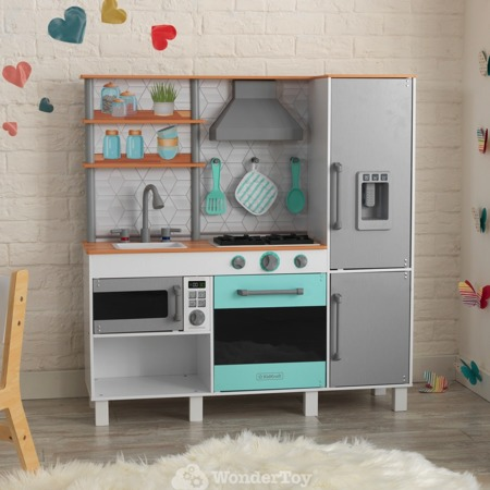Drewniana Kuchnia dla dzieci Gourmet Chef Play Kitchen