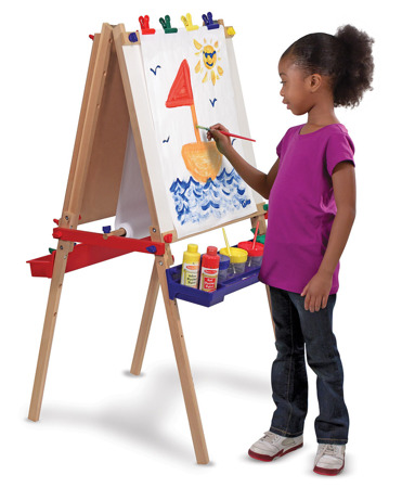 Drewniana Tablica Deluxe  Melissa and Doug 11282