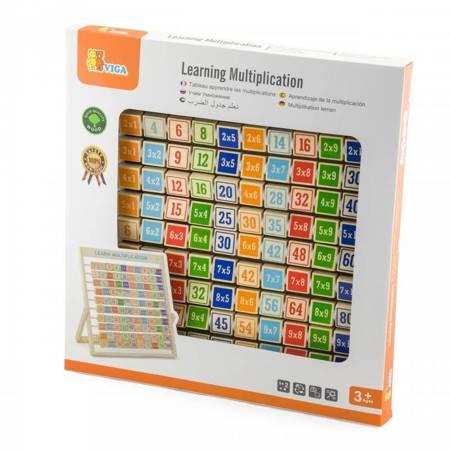 Drewniana Tabliczka Mnożenia Nauka Matematyki Viga Toys