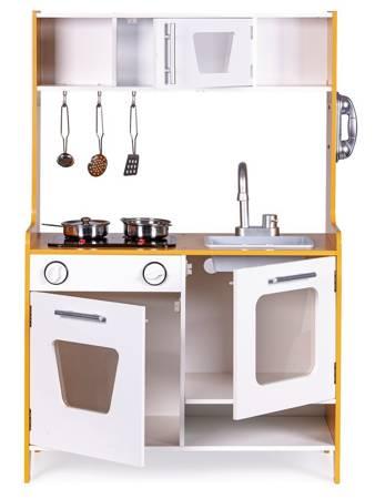 Drewniana kuchnia dla dzieci Multi Światło i Dźwięk i Akcesoria