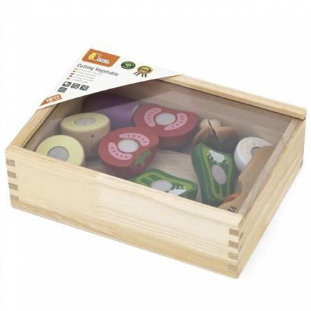 Drewniane  Warzywa na rzepy  Viga Toys