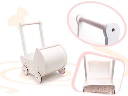 Drewniany Wózek dla lalek  Dotty