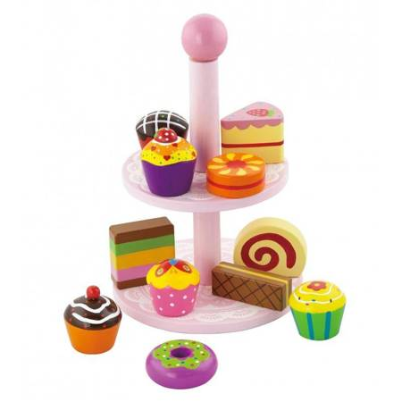 Etażerka Patera z Ciasteczkami Viga Toys