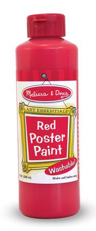 Farba Plakatowa Czerwona  Melissa and Doug 14137 DSC