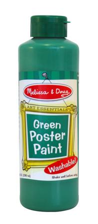 Farba Plakatowa Zielona Melissa and Doug 14140 DSC