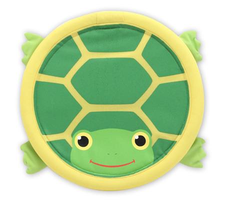 Frisbee Zręcznościowa Gra Latający Dysk Żółwik  Melissa and Doug 16159 DSC
