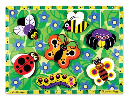 Grube Puzzle Jumbo Owady  Melissa and Doug 13729