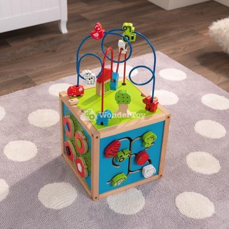 Kostka Edukacyjna Kidkraft Bead Maze Cube 63243