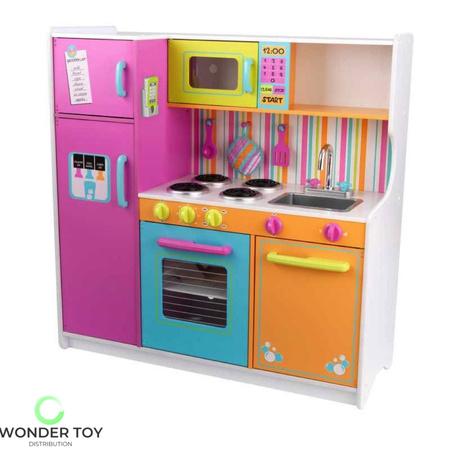 Kuchnia dla dzieci KidKraft Wielka Tęczowa Kuchnia 53100