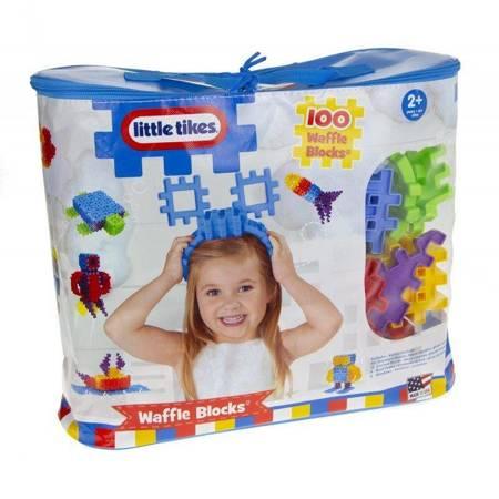 Little Tikes klocki wafle w torbie 100 elem