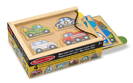 Mini Puzzle Pojazdy  Melissa and Doug 14791