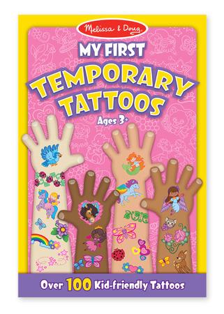 Mój Pierwszy Tatuaż dla dziewczynki  Melissa and Doug 12946