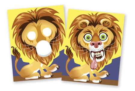 Naklejki Zwariowane Zwierzaki  Melissa and Doug 18605