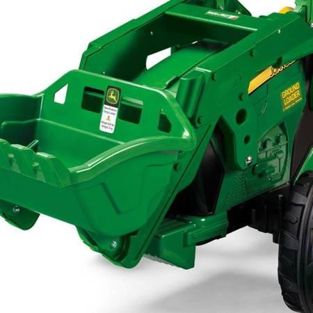 PEG PEREGO Traktor Koparka na akumulator John Deere Power Pull