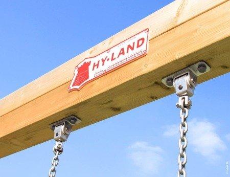 Plac Zabaw Hy-Land Q4S z Huśtawką ® Outdoor Play Equipment