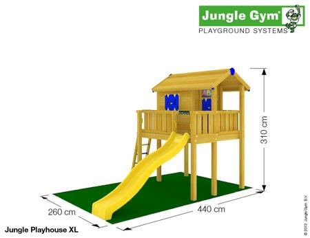 Plac Zabaw - Zestaw Jungle Gym Tiger
