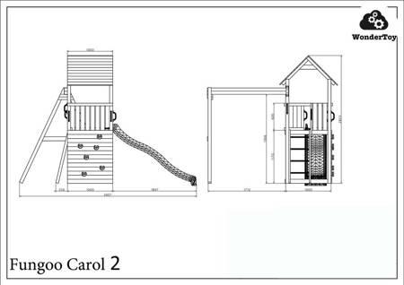 Plac zabaw Carol 2 The Grey™ FunGoo ®