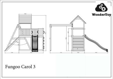 Plac zabaw Carol 3 The Grey™ FunGoo ®