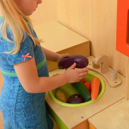 Plastikowe  Warzywa Zestaw 8 szt   MASTERKIDZ