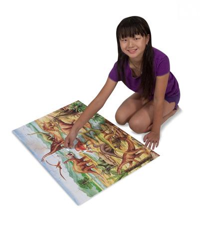 Puzzle Podłogowe  Dinozaury Melissa and Doug 10421