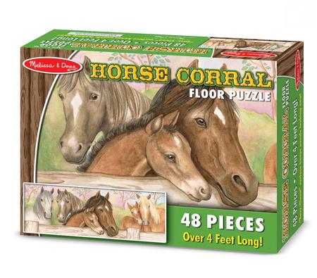 Puzzle Podłogowe Konie Melissa and Doug 14414