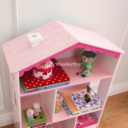 Regał z półkami - Domek dla lalek Kidkraft 14604