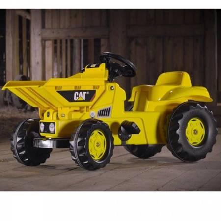 Rolly Toys rollyKid Traktor na pedały Dumper na licencji Caterpillar