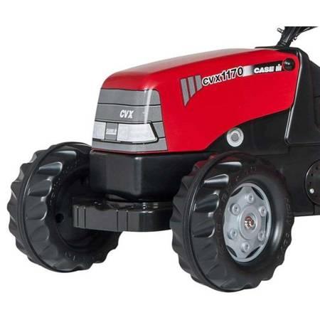 Rolly Toys rolyKid traktor na pedały Case z przyczepką