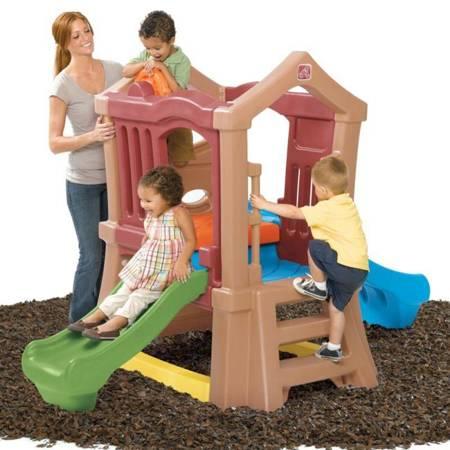 STEP2 Centrum Aktywności Plac Zabaw ze Zjeżdżalnią i Wspinaczką Step2