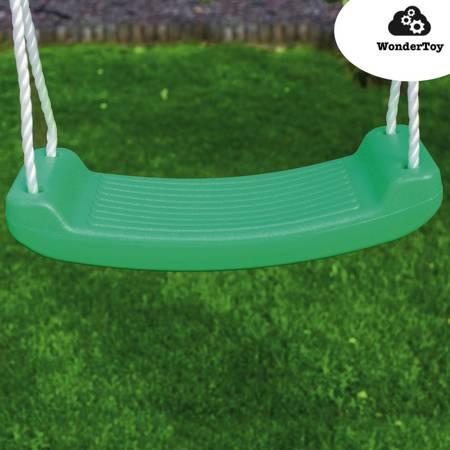 Siedzisko, siedzenie, siodełko do huśtawki - płaskie zielone