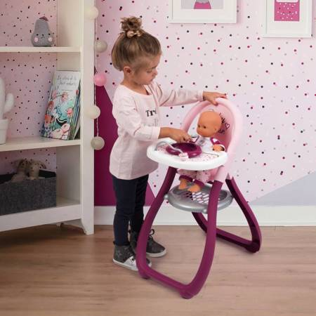 Smoby Krzesełko Do Karmienia Baby Nurse Dla Lalek