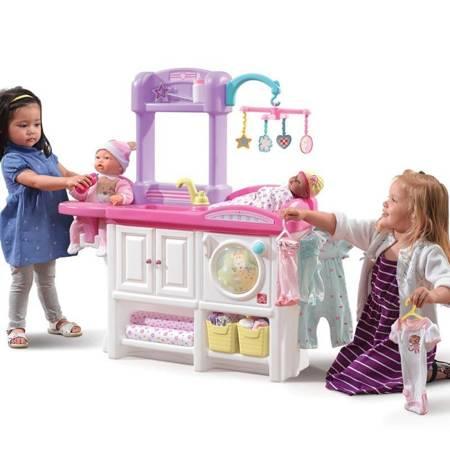 Step2 Luksusowy Przewijak dla lalek i kącik pielęgnacyjny z Akcesoriami