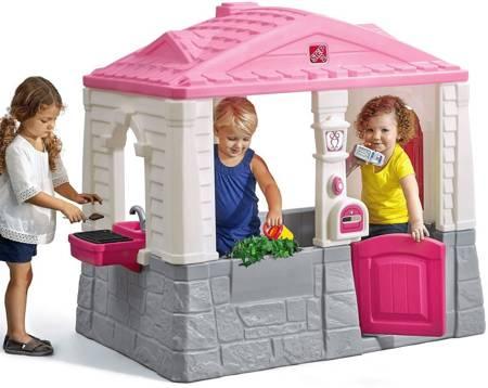 Step2 Naturalny Domek Ogrodowy dla Dzieci Neat & Tidy Cottage