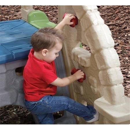 Step2  Plac Zabaw Skałka Wspinaczka ze Zjeżdżalnią
