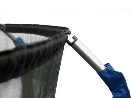 Trampolina Ogrodowa 435cm/14FT Niebieska Maxy Comfort Z Wewnętrzną Siatką