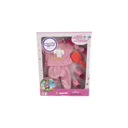 Ubranko dla Lalki Piżama 43-46 cm + Akc WOOPIE